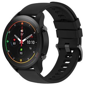 Смарт-часы Xiaomi Mi Watch (BHR4550GL), 1.39', Amoled, пульсометр, шагомер, 420 мАч, черные Ош