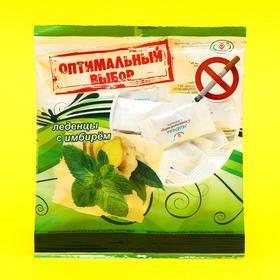 Леденцы «Оптимальный выбор» со вкусом мяты, имбиря и лимонной мелиссы, от курения, 50 г