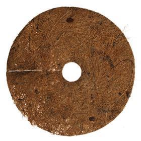Круг приствольный, d = 17 см, из кокосового полотна с натуральным латексным клеем Ош