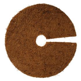 Круг приствольный, d = 35 см, из кокосового полотна с натуральным латексным клеем Ош