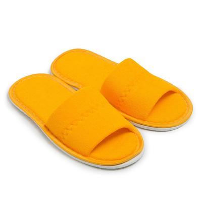 Тапочки женские, цвет жёлтый, размер 36-38 - Фото 1