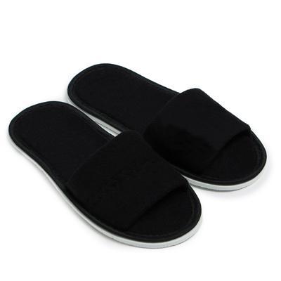 Тапочки женские, цвет чёрный, размер 36-38 - Фото 1