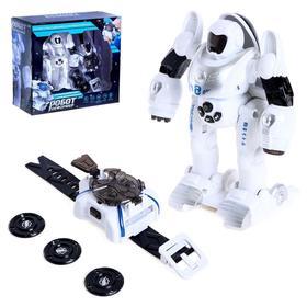 Робот «Робот деформер», с наручной катапультой, световые и звуковые эффекты