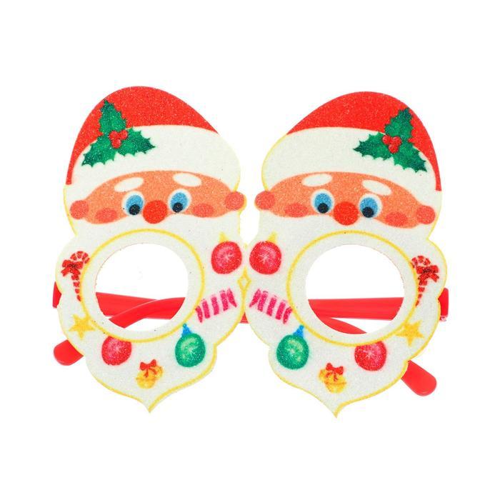 Карнавальные очки Дед Мороз