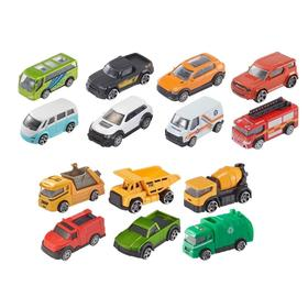Игрушечная машинка, серия Hot Trucks, МИКС