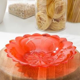 Блюдо круглое «Астра», 22,5×4 см, цвет МИКС