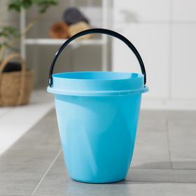 Ведро «Лайт», 5 л, цвет голубой Ош