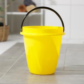 Ведро «Лайт», 5 л, цвет жёлтый Ош