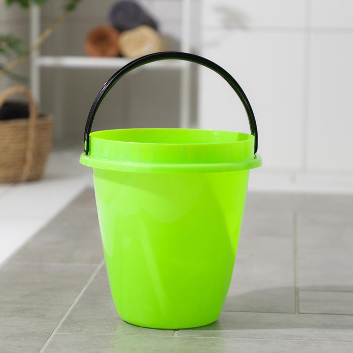 Ведро 10 л Лайт, цвет зеленый