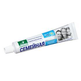 Зубная паста Весна Семейная можжевельник и ромашка, без футляра, 100 г