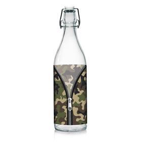 Бутылка «Камуфляж», 1000 мл