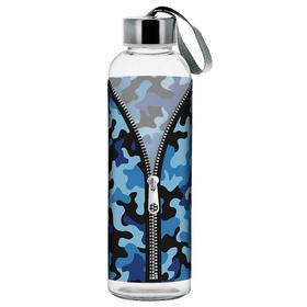 Бутылка переносная с крышкой «Камуфляж», 500 мл, МИКС