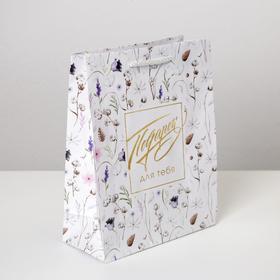 Пакет ламинированный Gift for you, MS 18 х 23 х 8 см