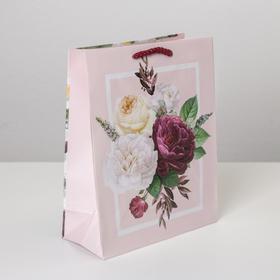 Пакет ламинированный Love, MS 18 х 23 х 8 см