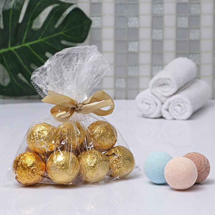 Бомбочки для ванны 40 гр в пакете МИКС, цена за шт