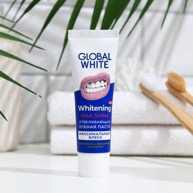 Зубная паста Global White Max Shine отбеливающая, 30 мл
