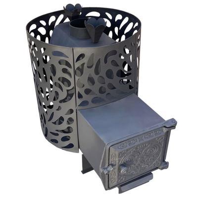 Печь банная «Берёзка ПарЛайт 12», металл 4 мм, закрытая каменка - Фото 1