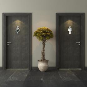 Декор настенный, зеркальный, d=15 см, серебро Ош