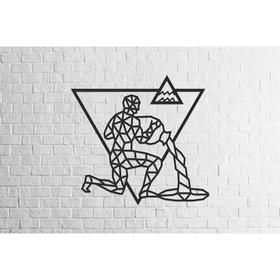 Деревянный декор настенный «Водолей», панно, пазл EWA Design