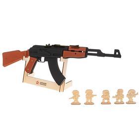 Резинкострел из дерева «Автомат АК-47»