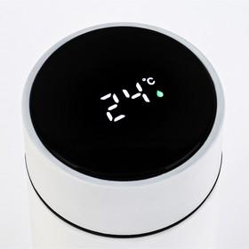 """Термос Supreme """"Love"""", c термометром, 450 мл, сохраняет тепло 8 ч, 23 х 6.5 см"""