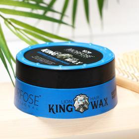 Воск для волос Королевский MORFOSE King Hair Wax, Extra Strong Aqua, 175 мл