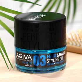 Гель для волос ЭКСТРА СИЛЬНЫЙ AGIVA  Hair Gel 03 Extra Strong , 200 мл