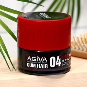 Гель для укладки волос ГИБКИЙ ЭЛАСТИЧНЫЙ AGIVA  Hair Gel 04 Gum, 200 мл