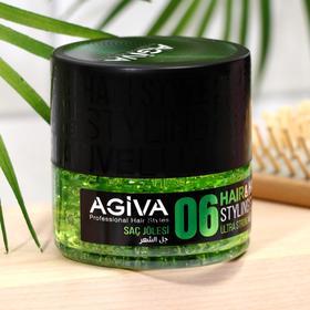 Гель для укладки волос УЛЬТРА СИЛЬНЫЙ AGIVA Hair Gel 06 Ultra Strong Wet, 200 мл
