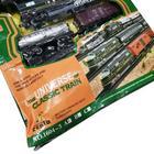 Железная дорога «Экспресс», со световыми эффектами, протяжённость пути 3,6 м, уценка (помята упаковка) - Фото 8