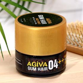 Гель для укладки волос AGIVA Hair Gum Gold Power 04++, золотой, 200 мл