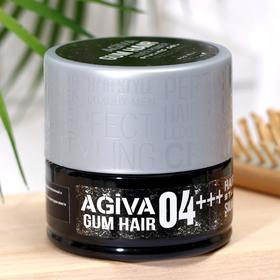 Гель для укладки волос AGIVA Hair Gum Silver Power 04+++, серебряный, 200 мл