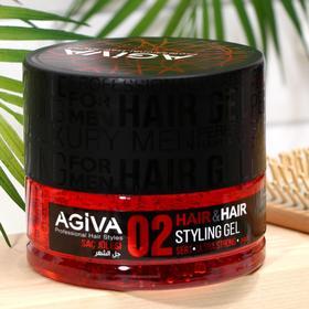 Гель для волос AGIVA Hair Gel 02 Ultra Strong, ультра сильный, 700 мл
