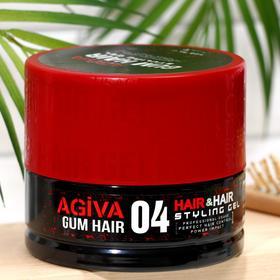 Гель для укладки волос AGIVA Hair Gel 04 Gum, гибкий, эластичный, 700 мл