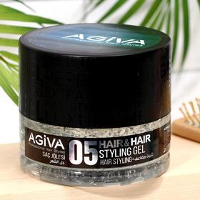 Гель для укладки волос AGIVA Hair Gel 05 Transparent, прозрачный, 700 мл