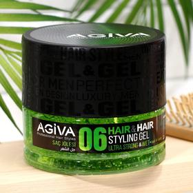 Гель для укладки волос AGIVA Hair Gel 06 Ultra Strong Wet, ультра сильный, 700 мл