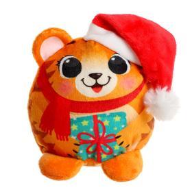 Мягкая игрушка «Новогодний тигрёнок»