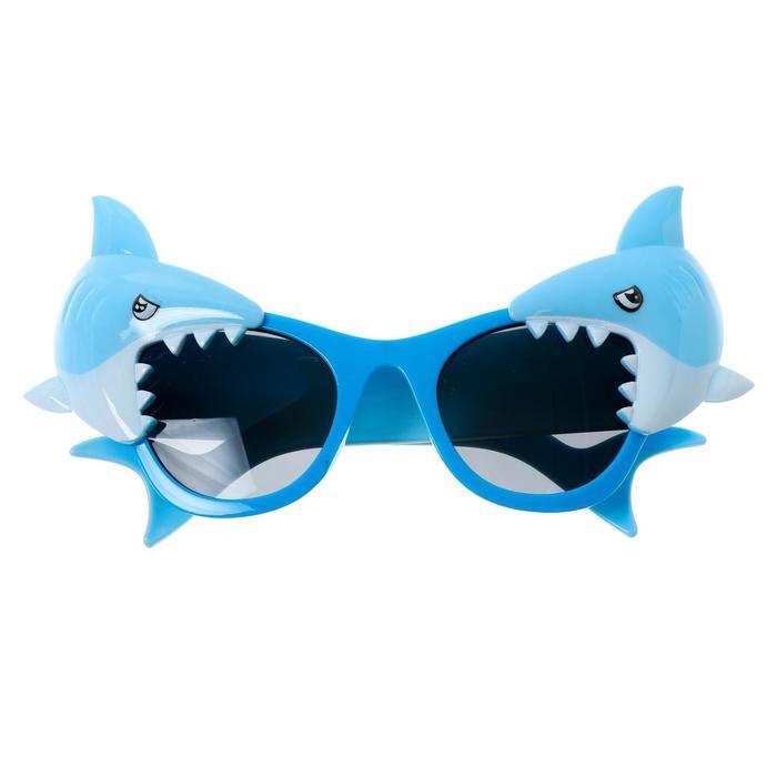 Карнавальные очки Акула