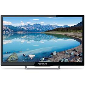 """Телевизор PolarLine 24PL12TC, 24"""", 1366х768, DVB-T2/C, 1xHDMI, 1xUSB, чёрный"""