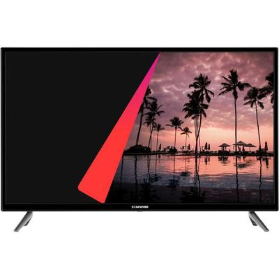 "Телевизор Starwind SW-LED32SB300, 32"", 1366х768, DVB-T2/S2, 3xHDMI, 2xUSB, SmartTV, чёрный - Фото 1"