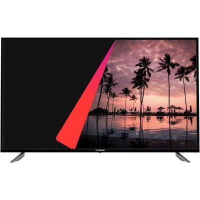 "Телевизор Starwind SW-LED43UB400, 43"", 3840x2160, DVB-T2/S2, 3xHDMI, 2xUSB, SmartTV, чёрный   718174 - Фото 1"