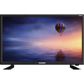 "Телевизор Telefunken TF-LED24S19T2, 23,6"", 1366х768, DVB-T2, 1xHDMI, 1xUSB, чёрный"
