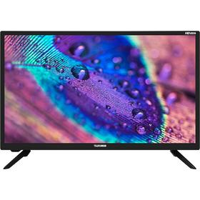 "Телевизор Telefunken TF-LED24S22T2, 23,6"", 1366х768, DVB-T2, 1xHDMI, 1xUSB, чёрный"