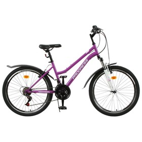 Велосипед 24' Progress модель Ingrid Pro RUS, цвет фиолетовый, размер 15' Ош