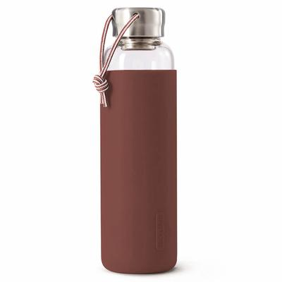 Бутылка для воды, 600 мл, бордовая - Фото 1