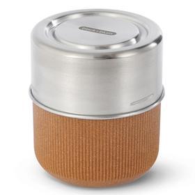 Ланч-бокс glass lunch pot, 450 мл, коричневый