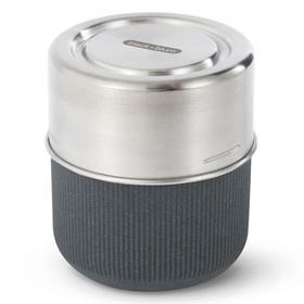 Ланч-бокс glass lunch pot, 450 мл, серый