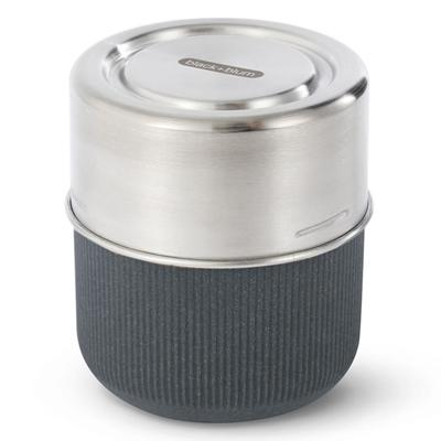 Ланч-бокс glass lunch pot, 450 мл, серый - Фото 1