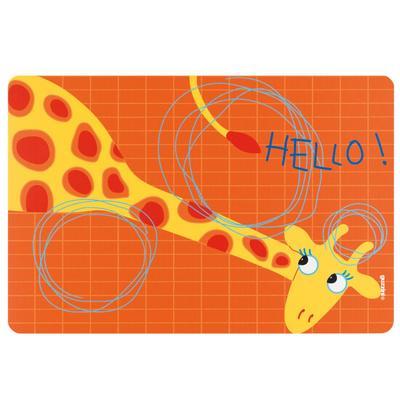 Мат сервировочный детский hello, Жираф - Фото 1