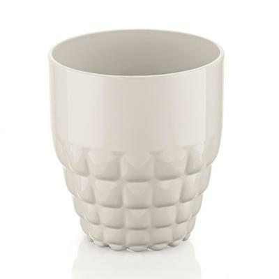 Стакан Tiffany, 350 мл, акрил, молочно-белый - Фото 1